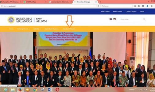 Semua Alumni UNAIR Dihimbau Segera 'Update' Data di Web IKA