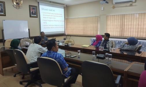 Sosialisasi Peraturan Rektor Wajib Simpan Karya Ilmiah